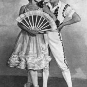 A. Messerer and Lepeshinskaya in Don Quixote