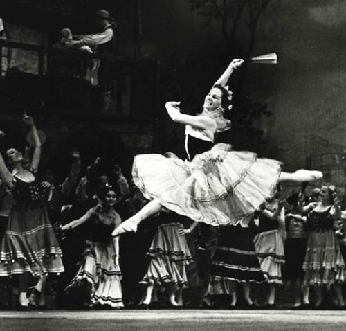 Don Quixote, 1940. Soviet ballerina Olga Lepeshinskaya
