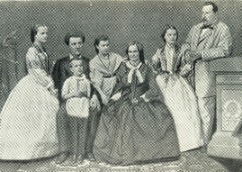Family of K. Richter, conductor of the St. Petersburg string orchestra