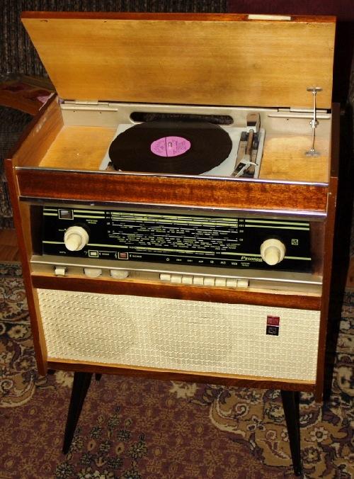 Floor radiogram first class 'Rigonda' (1965, USSR)