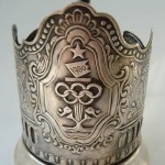 'Moscow Olympic Games'. Legendary Soviet Podstakannik