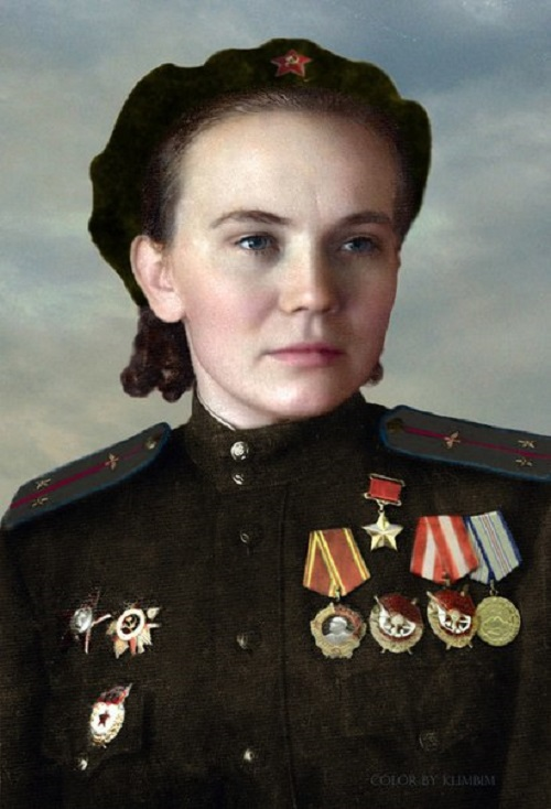 Hero of the Soviet Union Ulyanenko (1923 - 2005)