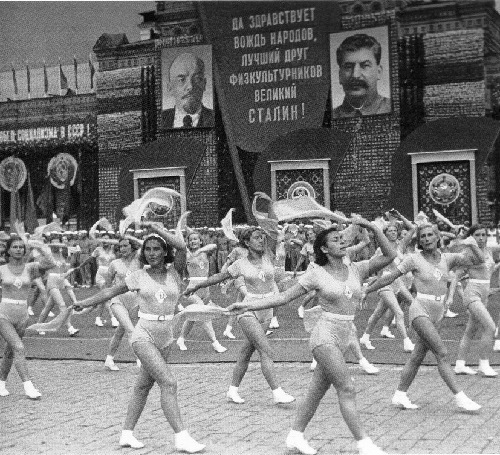 In 1935, at the parade of athletes in Moscow, Stalin was named 'the best friend of the pioneers'