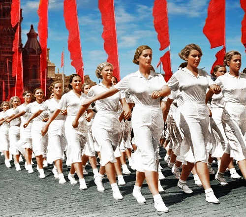July 1, 1936 Physical Culture Parades in USSR