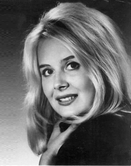 Soviet Estonian actress Eve Kivi