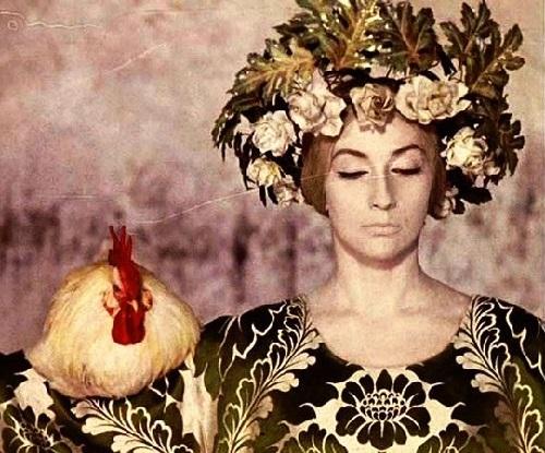 Soviet Georgian actress Sofiko Chiaureli. 'The Color of Pomegranate' (1972)