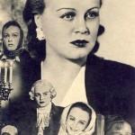 Soviet actress Tatiana Okunevskaya