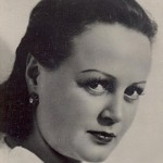 Soviet Estonian actress Eve Kivi