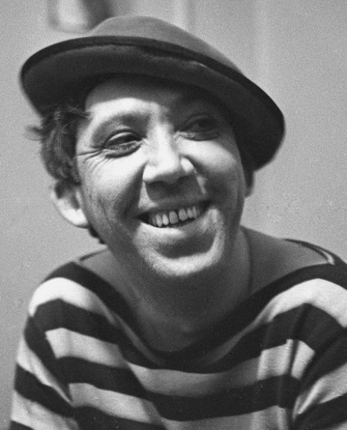 Soviet artist, clown Yuri Nikulin