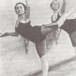 At the rehearsals, Soviet ballerina Olga Lepeshinskaya
