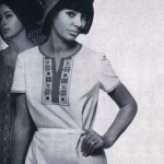 Soviet fashion model Regina Zbarskaya