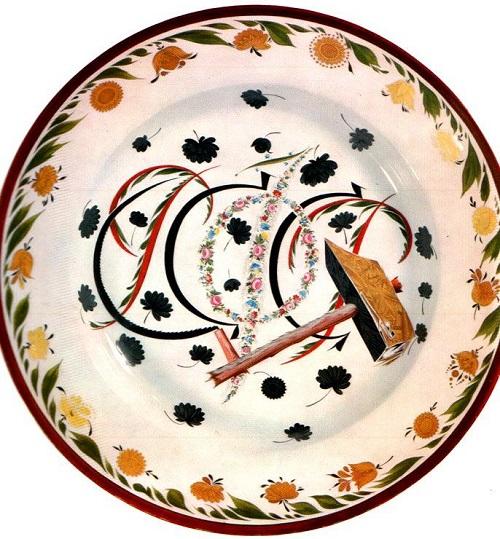 Soviet propaganda porcelain - Soviet Art