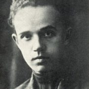 1926. Zhukov as a student of the artistic and industrial school in Nizhni Novgorod