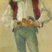 Actor Leon Kukulian. 1973