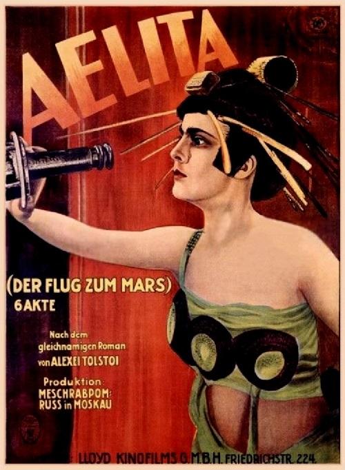 Aelita, 1924, USSR