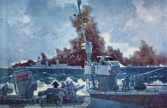 Black Sea Fleet on maneuvers