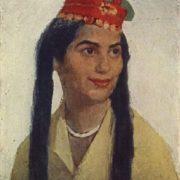 Bulgarian girl. 1960