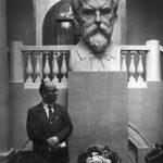 Bust of VI Vernadsky in Geological Museum, Moscow. Sculptor Zalman Moiseevich Vilensky
