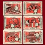 USSR matchbox labels – Chemistry in service of mankind