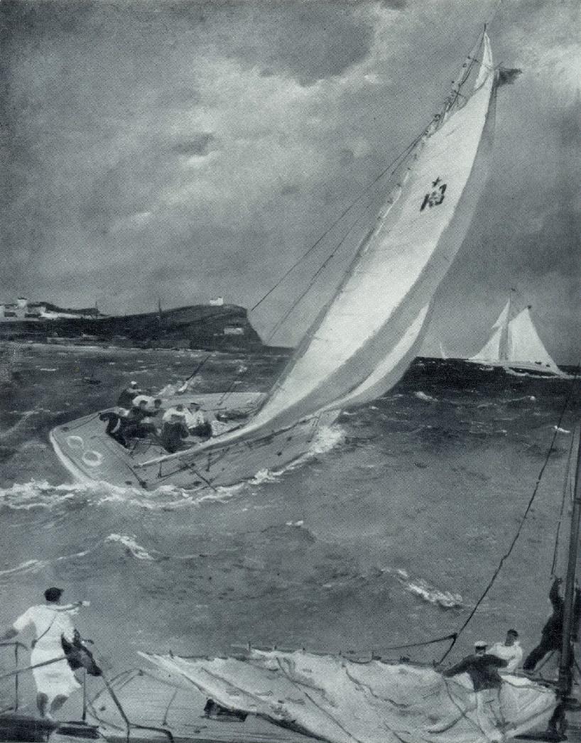 At the sea. 1935