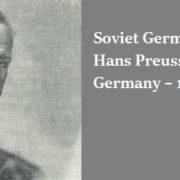 Soviet German artist Hans Preuss (1904 Germany – 1984 USSR)