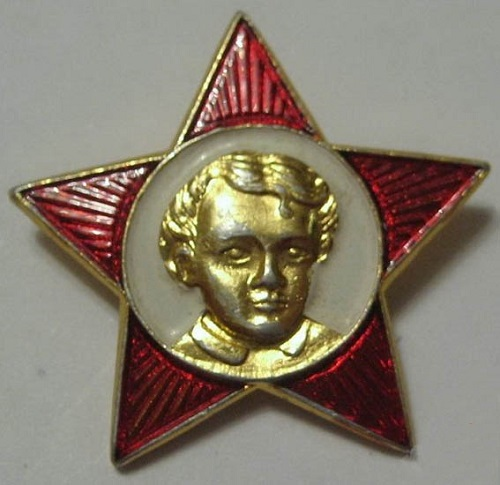 N. N. Zhukov is the author of well known to every Soviet child the badge with the image of Lenin