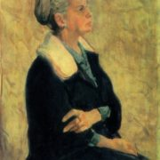 Portrait of Artist's wife. 1970