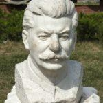 Portrait of Stalin, 1947. Marble. Sculptor Zalman Moiseevich Vilensky