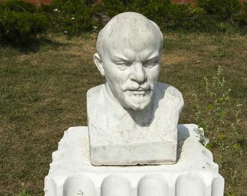 Portrait of VI Lenin