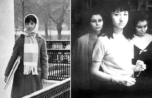 Soviet artist Nadya Rusheva (31 January 1952, Ulan Bator - 6 March 1969, Moscow, USSR)