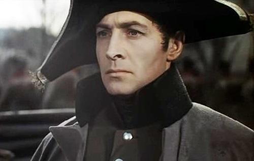 Vyacheslav Tikhonov as Andrei Bolkonsky in the 1965 film 'War and Peace'