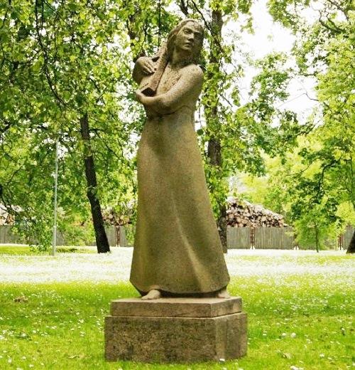Daina, 1939. Monument in Sigulda, Latvia