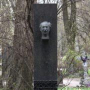 Abram Ioffe (1880 – 1960). Volkovo cemetery, St. Petersburg