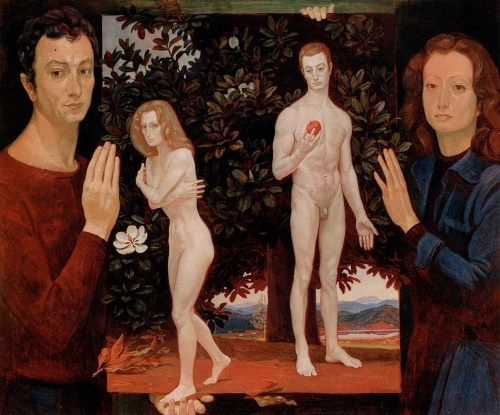 Adam and Eve. 1979. Collection of P. Ludwig, Cologne