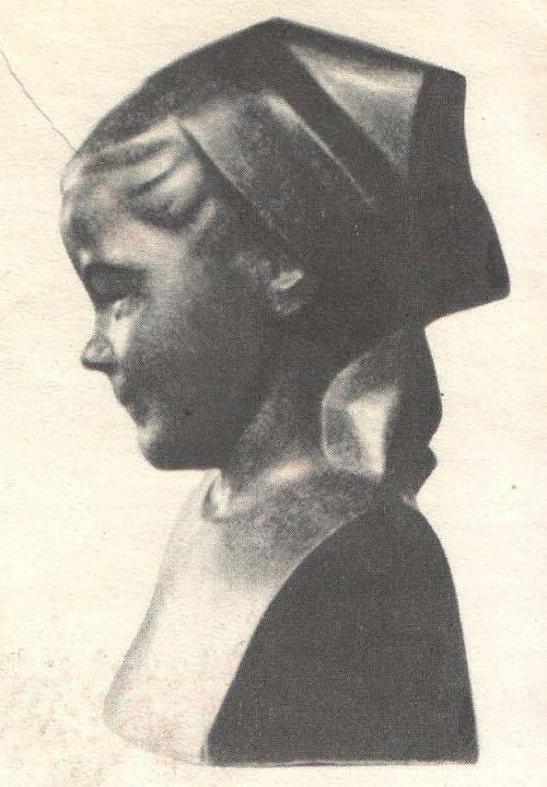 Antsite - Collective Farm Girl. Granite. 1965