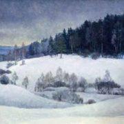 At the village of Grumant. Podkapustnik. 1990s. Artist A.V. Shirenkov. Tomsk art museum