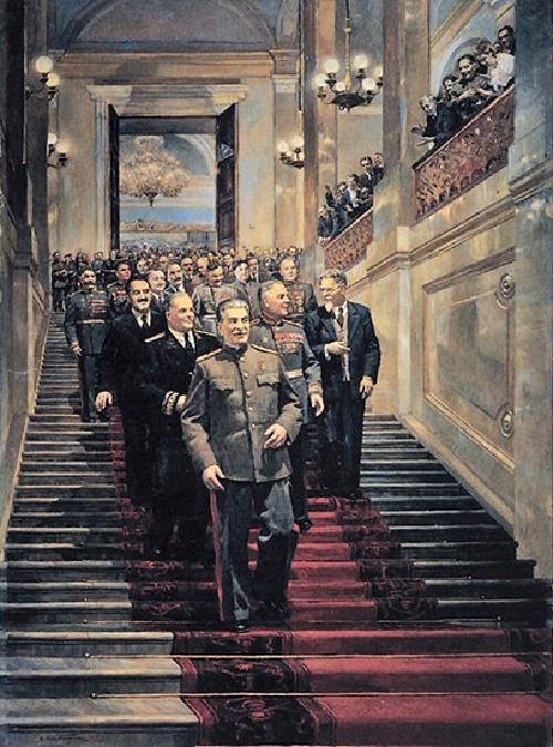 D. Nalbandyan. In the Kremlin, May 24, 1945. (1947)