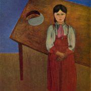D.P. Shterenberg (1881-1948). Canvas, oil. Aniska. 1926. The Tretyakov Gallery