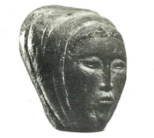 Girl. Soviet Kirghiz sculptor Turgunbai Sadykov