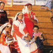 H. Yakunov. My Shalintsy. Canvas, oil. 1984-1985