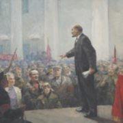 K.A. Krylov. Meeting in Smolny. 1966