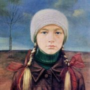 Kristina (daughter of Alla Pugacheva). 1985