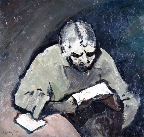 Letter. 1969. Oil on canvas