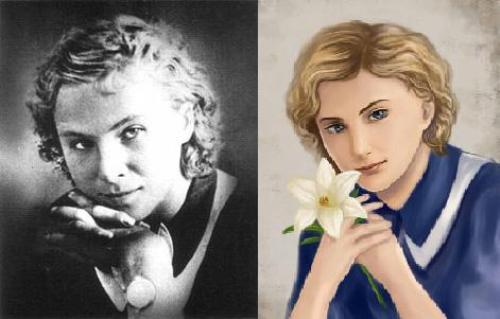 Lidiya Litvyak, fan art