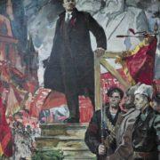 Lyubov Pribluda (1929). Lenin in October. 1973