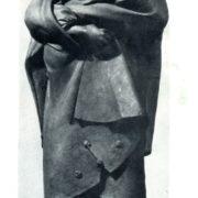 Katerina. Figure for monument of T.G. Shevchenko in Kharkov. Bronze. 1935