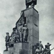 T.G. Shevchenko in Kharkov. Bronze, granite. 1935
