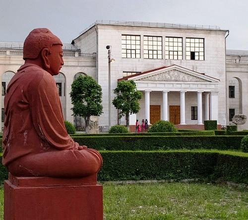National Academy of Fine Arts in Bishkek, was named after its founder Turgunbay Sadykov