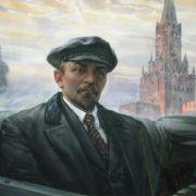 Nikolay Velicko. Lenin on Red Square