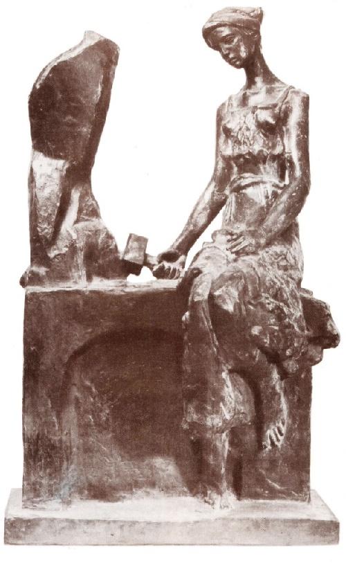 Soviet sculptor Pavel Turayev. Creativity. Bronze. 1989